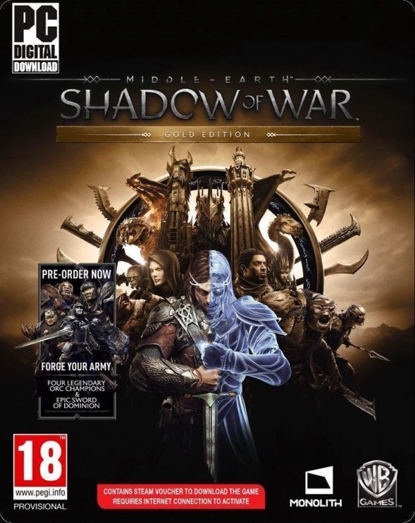 Middle Earth Shadow of War Gold Edition PC