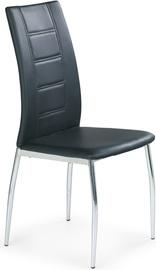 Kėdė Halmar, juoda