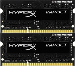 Operatīvā atmiņa (RAM) Kingston HyperX Impact HX321LS11IB2K2/8 DDR3 (SO-DIMM) 8 GB