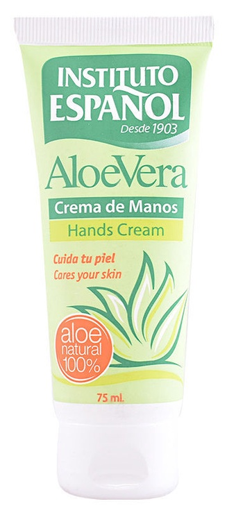 Rankų kremas Instituto Español Aloe Vera, 75 ml