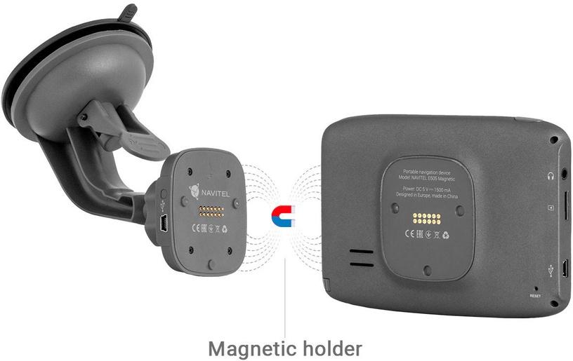 Navigeerimine Navitel E505 Magnetic