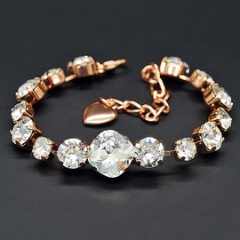 Diamond Sky Bracelet Glare II With Crystals From Swarovski