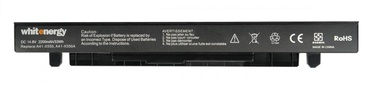 Whitenergy Asus X550C Laptop Battery 14.4-14.8V 2200mAh Black