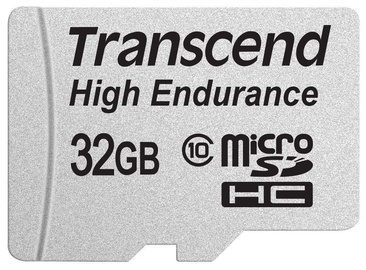 Mälukaart Transcend 32GB Micro SDHC High Endurance w/ Adapter