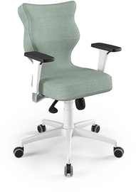 Entelo Perto White Office Chair DC20 Mint