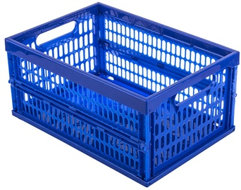 Curver Foldable Plastic Box Blue