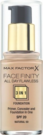 Max Factor Face Finity All Day Flawless 3in1 Foundation 30ml 50