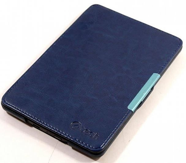 C-TECH Protect Hardcover Case for Kindle Paperwhite WAKE/SLEEP function Blue
