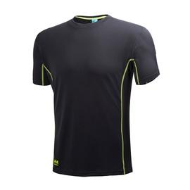 Vyriški marškinėliai Helly Hansen, juodi, M dydis