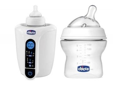 Chicco Digital Bottle Warmer + Natural Feeling Bottle 150ml 368282