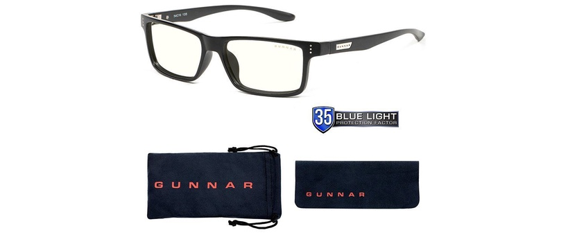 Защитные очки Gunnar Vertex Gaming Glasses Clear Onyx