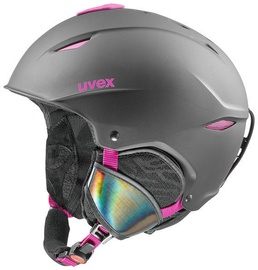 Uvex Primo Ski Helmet Black Pink Matt 52-55