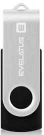 Evelatus USB Flash Drive To USB Type-C EFD02 64GB Black