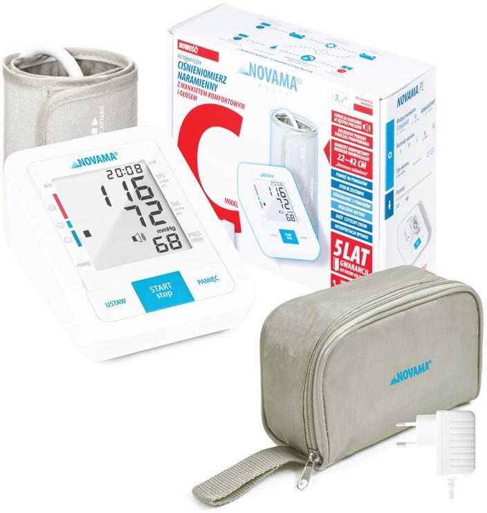 Novama Upper Arm Blood Pressure Monitor White C