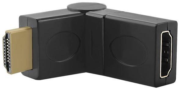 Qoltec Adapter HDMI / HDMI Black