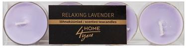 Home4you Teacandles 4pcs Relaxing Lavander