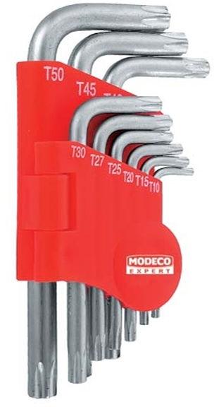 Modeco Expert MN-54-106 Torx Key Set 9pcs