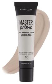 Makiažo pagrindas Maybelline Master Prime Pore Minimizing 10, 30 ml
