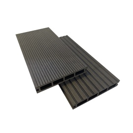 WPC terasų lenta Garden Center, 360x14x2.4 cm, juoda, 3 vnt.