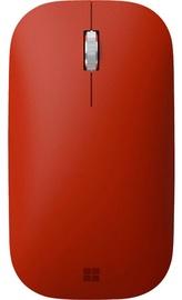 Kompiuterio pelė Microsoft Surface Red, bevielė, optinė