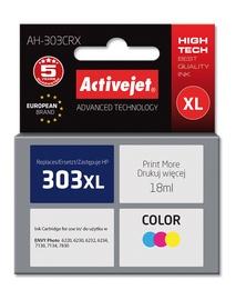Кассета для принтера ActiveJet AH-303CRX, желтый/циановый (cyan)/фуксия (magenta), 18 мл