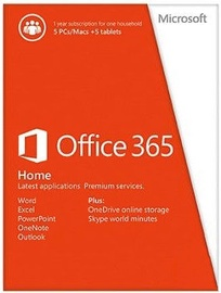 Microsoft Office 365 Home Electronic Licence Multilingual 6GQ-00092