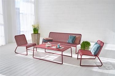 Sodo baldų komplektas Masterjero Casablanca, raudonas