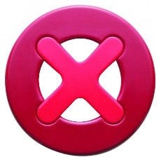 ViceVersa Magnetic Trivet Mayday Red 11031
