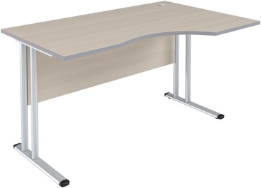 Skyland Imago SA-1M Right Ergonomic Table 160x90x75.5cm Maple