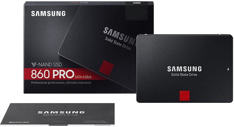 "Samsung 860 Pro 1TB 2.5"" SATAIII MZ-76P1T0B/EU"
