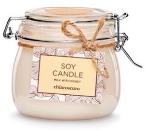 Свеча Mondex Soy Candle 500ml Milk with Honey