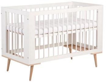 Детская кровать Klups Sofie White, 124x66 см