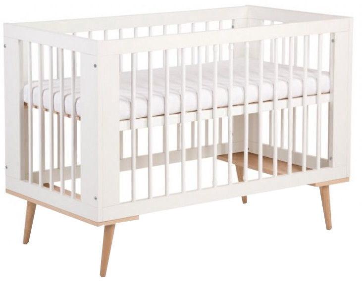 Vaikiška lova Klups Sofie White, 124x66 cm