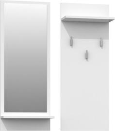 Top E Shop Riva Coat Hanger White