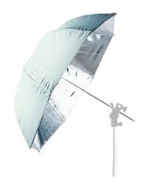 Falcon Eyes UR-T86S Jumbo Umbrella Silver/White 216cm