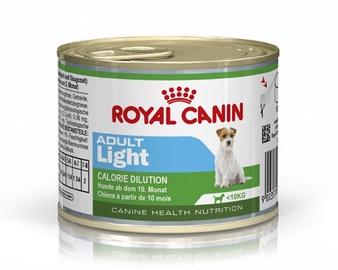 Konservuotas ėdalas šunims Royal Canin Mini Adult Light, 195 gr