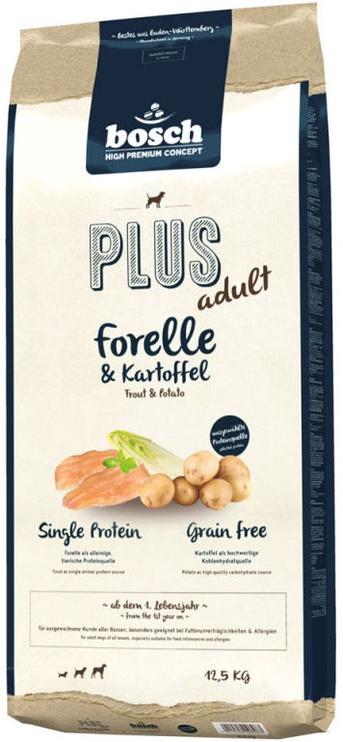 Сухой корм для собак Bosch PetFood Plus Adult Trout & Potato 12.5kg