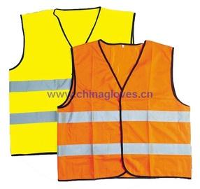 Liemenė, šviesą atspindinti, geltona, XL dydis