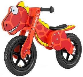 """Balansinis dviratis Milly Mally Dino 2923, raudonas, 12"""""""