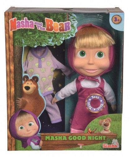 Simba Masha And The Bear Masha Good Night Doll 30cm 109301022