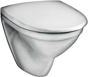 Sienas tualete Gustavsberg Nautic 5530 GB115530001010, ar vāku, 345x500 mm
