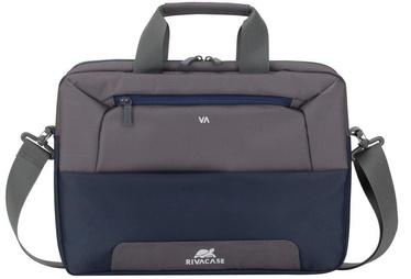 Rivacase Suzuka Laptop Bag 13.3-14'' Steel Blue/Grey