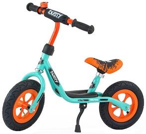 Milly Mally Dusty 10'' Balance Bike Pistachio Orange 3241