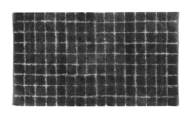 Vonios grindų kilimėlis Saniplast Plaza Piombo, 1100x600 mm