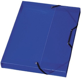 Herlitz File Box 01948686 Translucent Blue