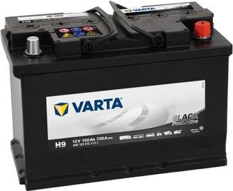 Аккумулятор Varta ProMotive HD Black H9, 12 В, 100 Ач, 720 а