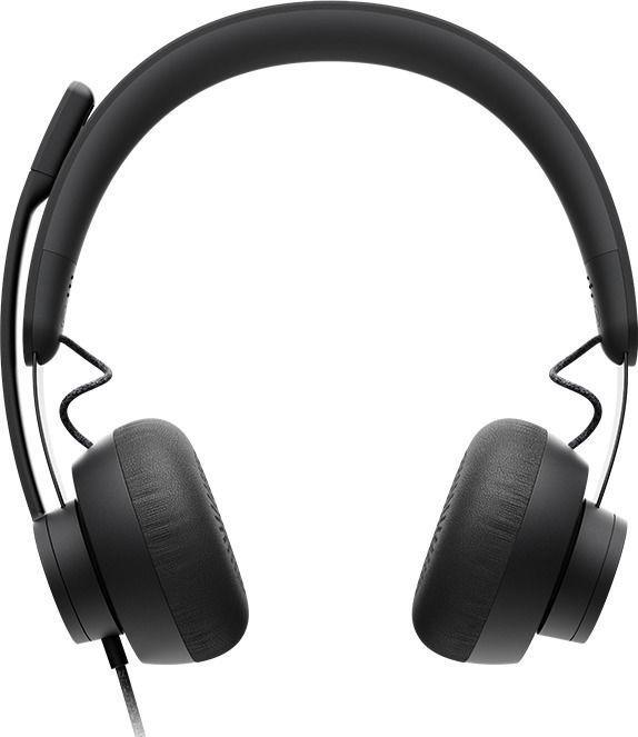 Ausinės Logitech Zone Wired On-Ear Black