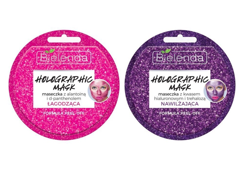 Bielenda Holographic Soothing Face Mask 8g