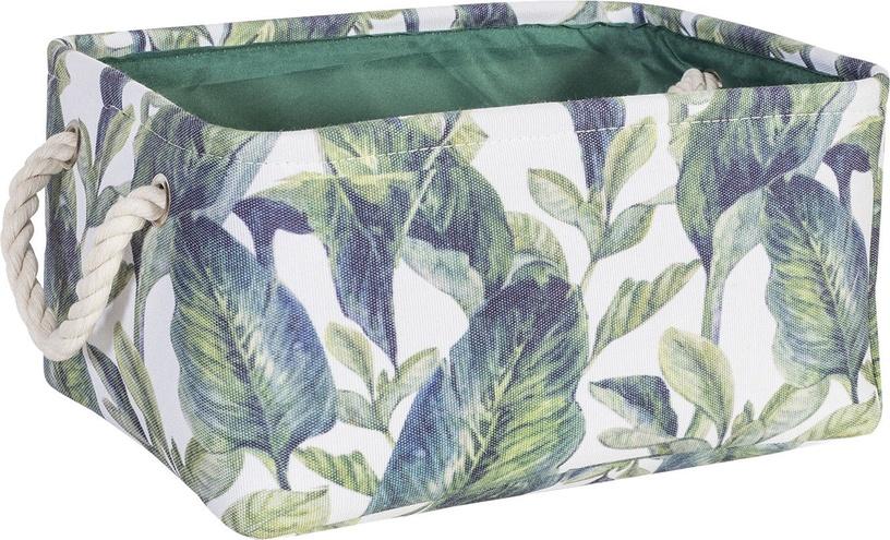 Home4you Tropic 6 Basket 27x18xH12cm Tropic Leaves 83596