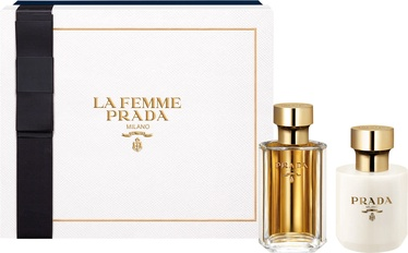 Prada La Femme Prada 100ml EDP + 100ml Body Lotion